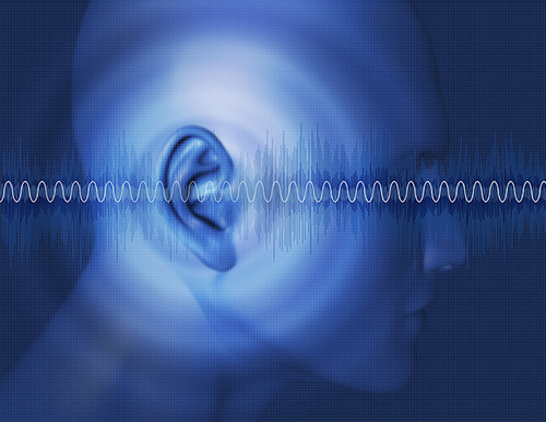 Picture of ear with sound waves | Your Hearing Could Be At Risk - 3 Tips to Avoid Hearing Loss