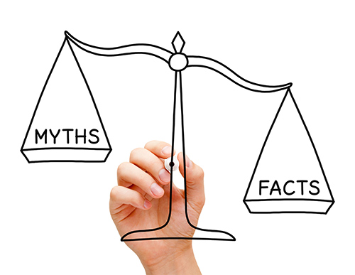 Picture of scale weighing myths and facts - The 5 Myths About Hearing Aids That Are Plain WRONG