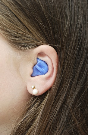 Custom-Molded Silicone Earplug