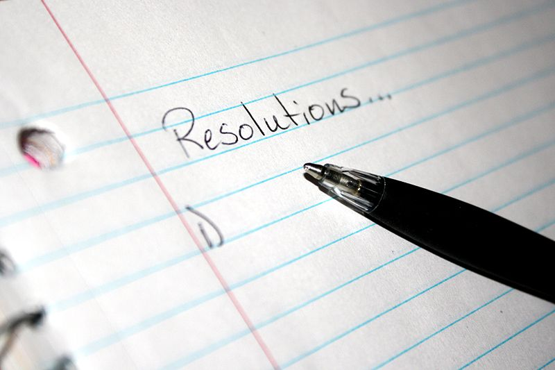 5 Healthy Resolutions to Start the New Year