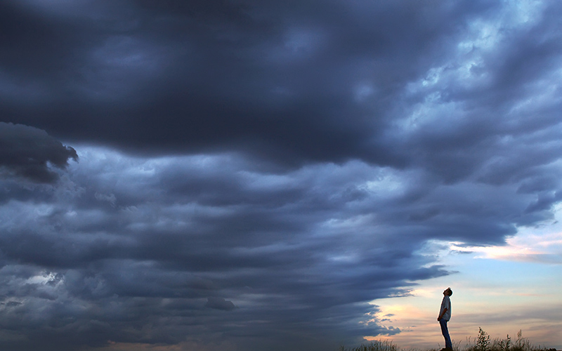 Stormy Clouds | Hearing Loss & Depression