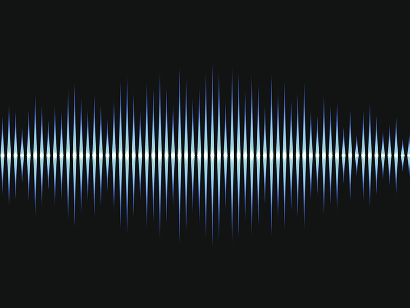 Picture of sounds waves