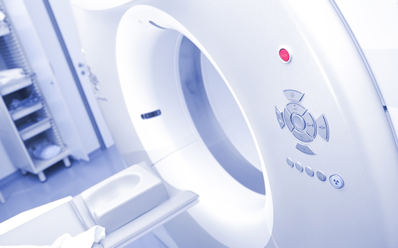 Picture of an MRI machine