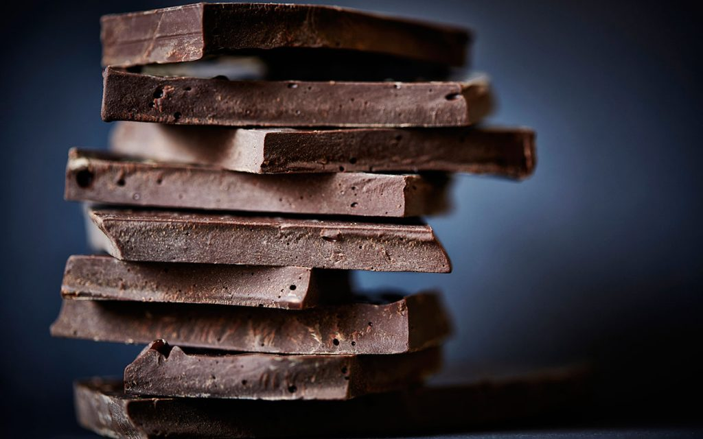 Chunks of chocolate to help prevent hearing loss.