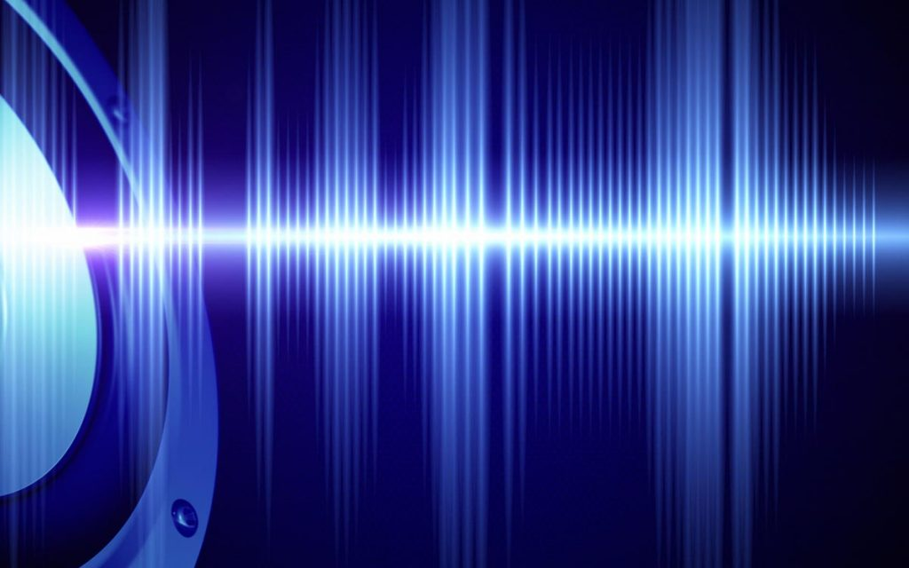 Sound waves and new hearing aid technology.