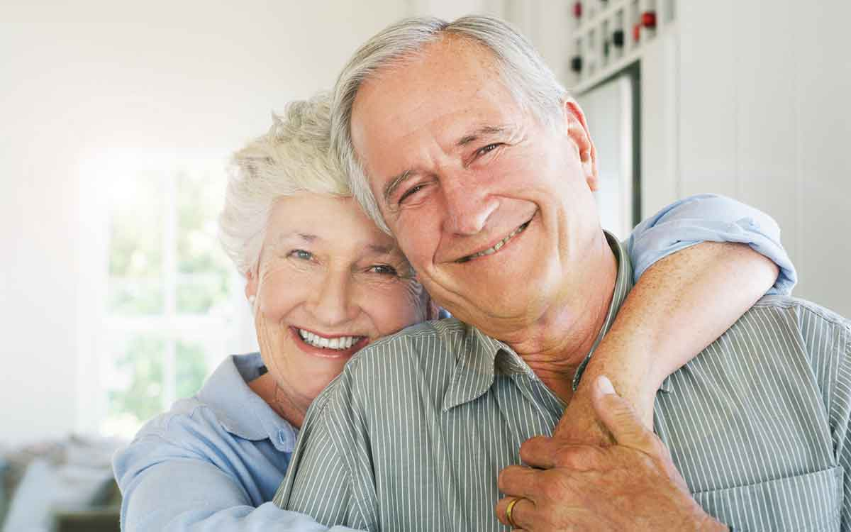 Shot of a happy senior couple getting the most from their hearing aids.